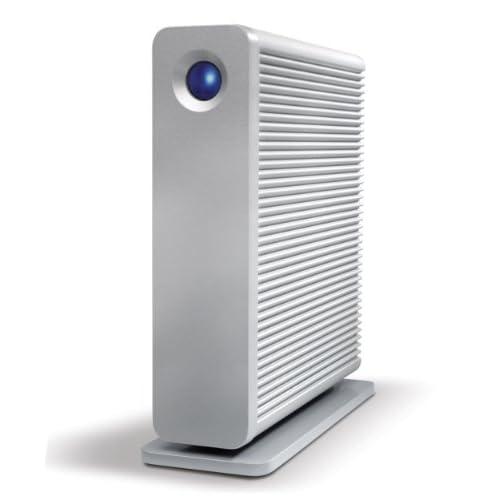 LaCie 3.5インチ外付けHDD d2 quadra 3TB USB3.0 FireWire800 eSATA 【Mac対応】 LCH-D2Q030Q3
