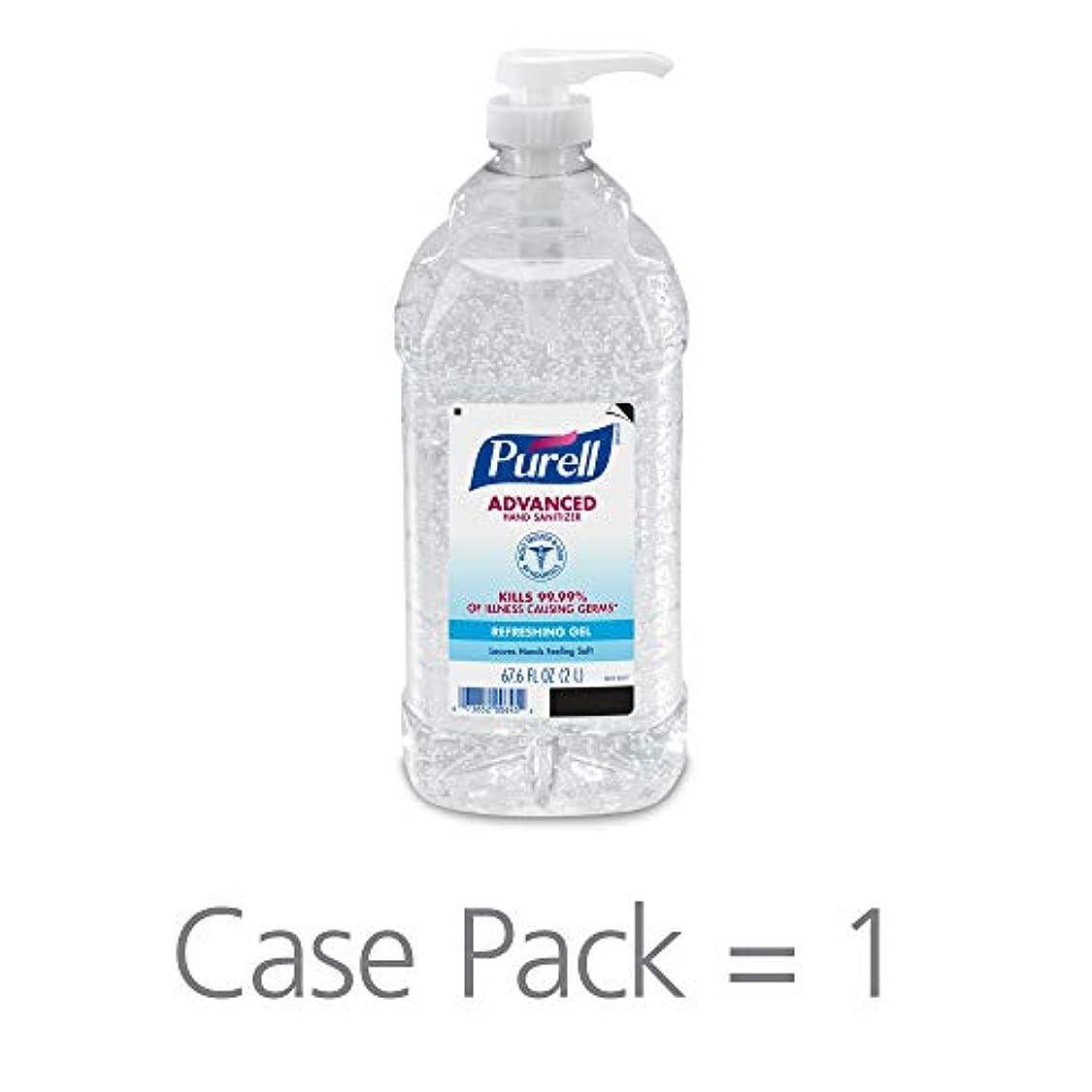 改修バックアップ夜明けにPURELL 962504CT Advanced Instant Hand Sanitizer, 2-liter Bottle, 4 per Carton by Purell