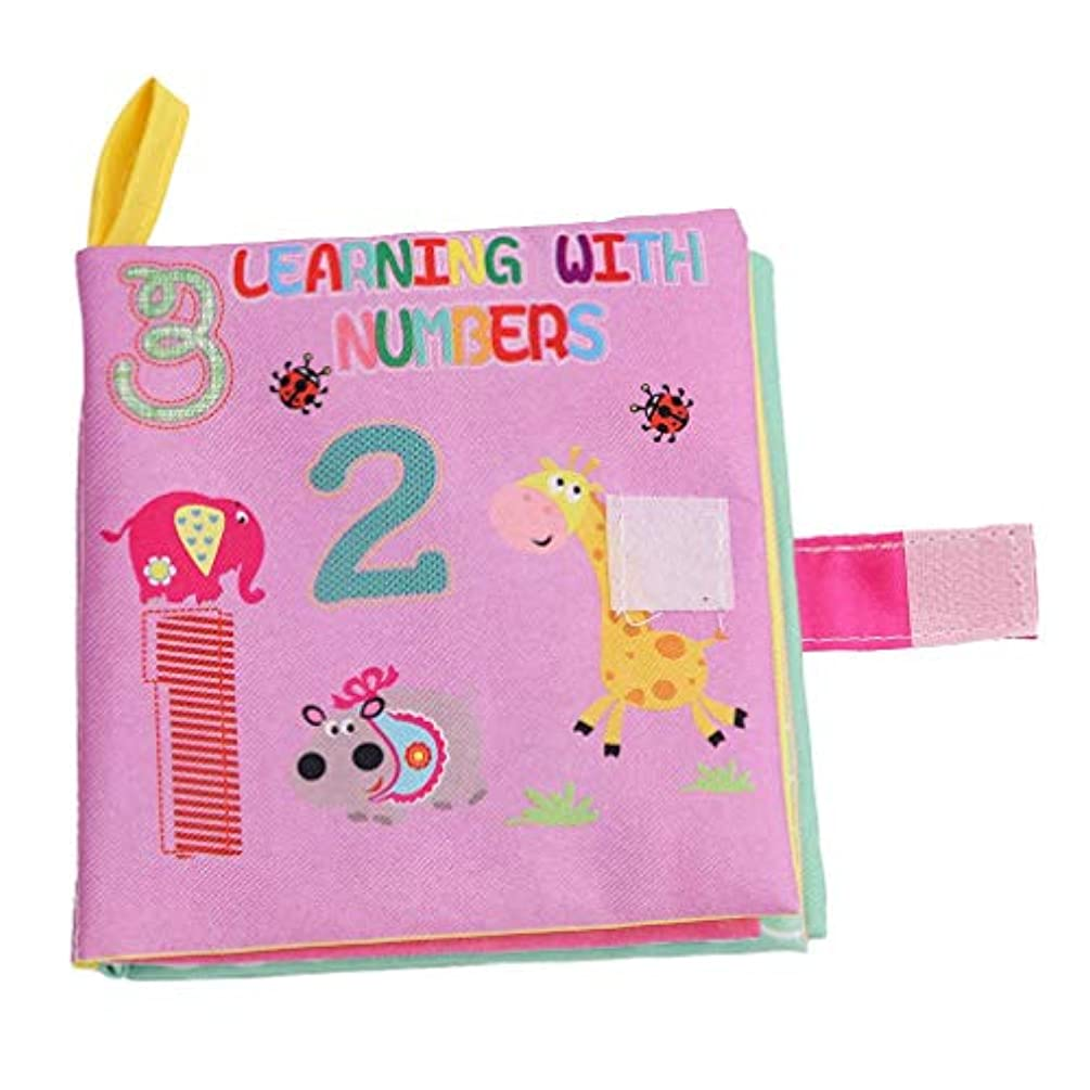 降下疑い海藻子供絵本 ベビー用品 赤ちゃん 音が鳴る 知育玩具 学習 多機能 破れない 布のおもちゃ 安全 安心 洗濯できる 数字
