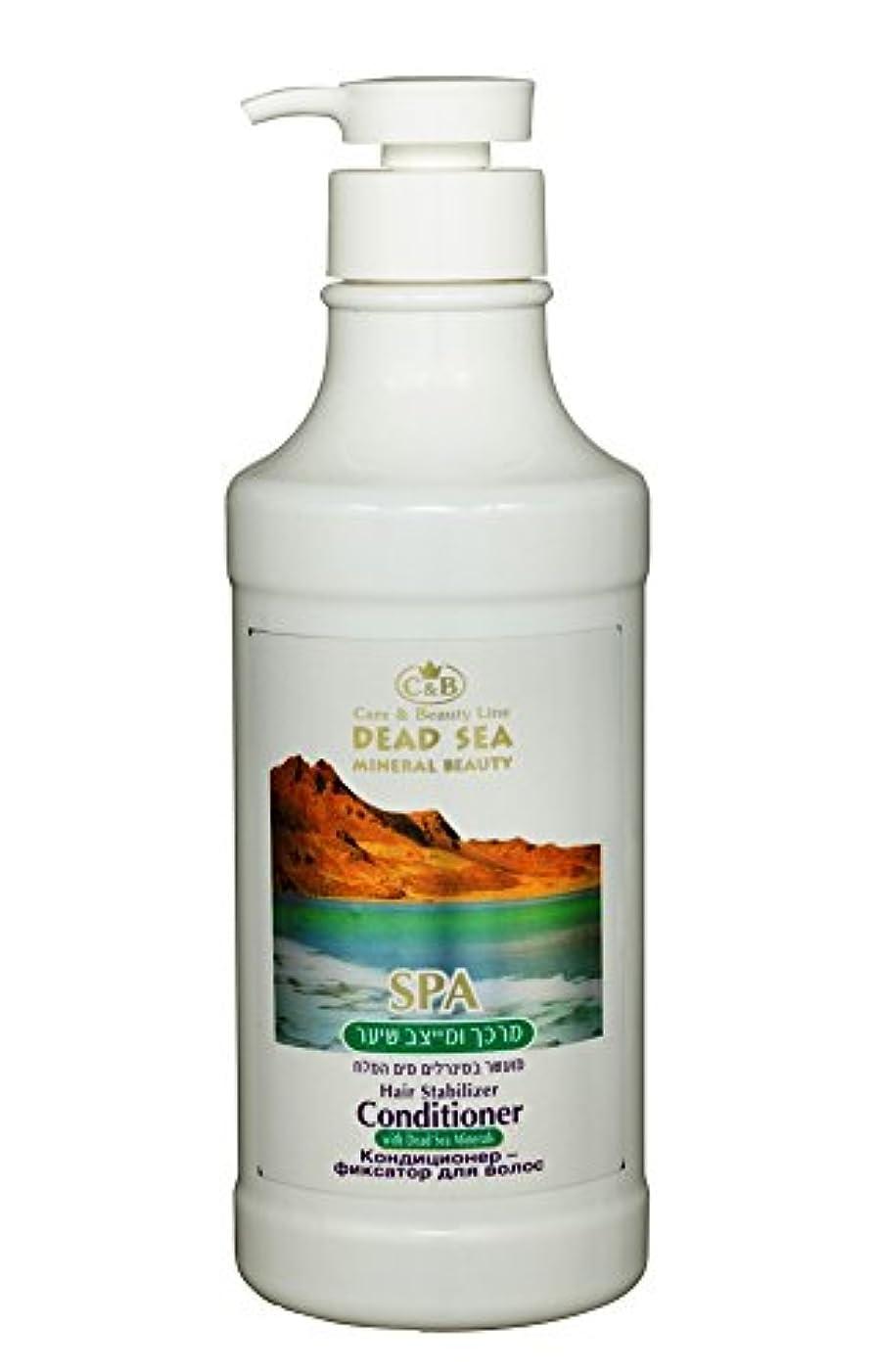 収益緩める前置詞ヘア?安定剤とコンディショナー 750mL 死海ミネラル (Hair Stabilizer and Conditioner)