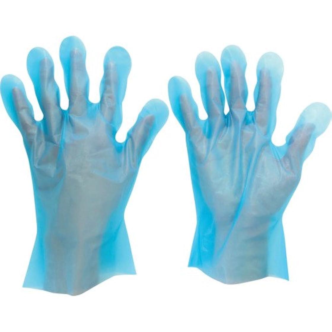 奨励しますパラメータロバミドリ安全 ポリエチレンディスポ手袋 ベルテ572 200枚入 S(入数:200枚) VERTE-572-S