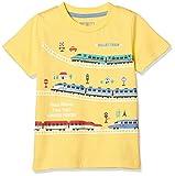 [マザウェイズ] 半袖Tシャツ ボーイズ 1433C 全21柄 イエロー 日本 120.0 (日本サイズ120 相当)