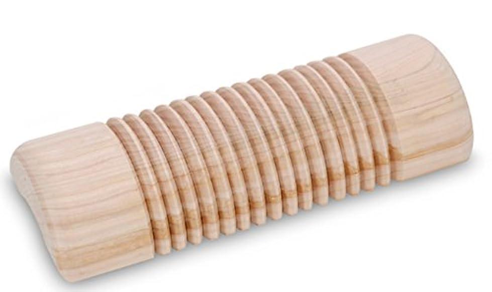 [エコ森ライフ] Eco Forest Life エコ檜フィトンチッド 頚椎枕 ストレス緩和 首 腰 足首運動 海外直送品 ( cypress trees phytoncide cervical wooden pillow...
