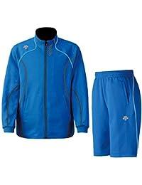 DESCENTE(デサント) メンズ トレーニング ジャケット?ハーフパンツ上下セット ロイヤル×ブルー DTM1910B-DTM1911PB-ROB (XO)