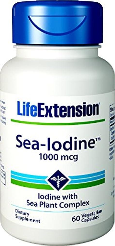 香水踊り子障害者海外直送品Sea-Iodine, 1000 mcg, 60 Caps by Life Extension