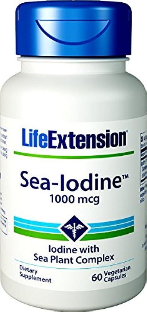 体系的に研究所大通り海外直送品Sea-Iodine, 1000 mcg, 60 Caps by Life Extension
