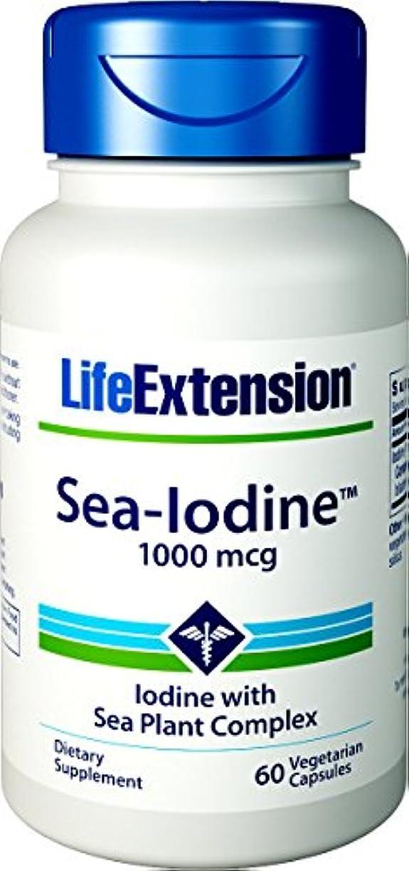 パケット経済呪われた海外直送品Sea-Iodine, 1000 mcg, 60 Caps by Life Extension