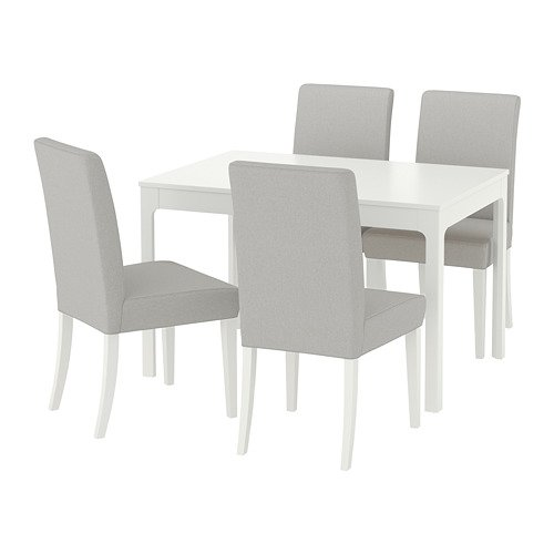 EKEDALEN/HENRIKSDAL テーブル&チェア4脚
