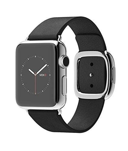 Apple Watch 本体 2015 アップル スマート ウォッチ Smart Watch 腕時計[並行輸入品] (38mmステンレススチールケース ブラックモダンバックル)