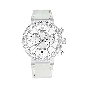 スワロフスキー SWAROVSKI 腕時計 シトラ スフィア クロノ ホワイト ステンレススチール ウォッチ 5027127【並行輸入品】