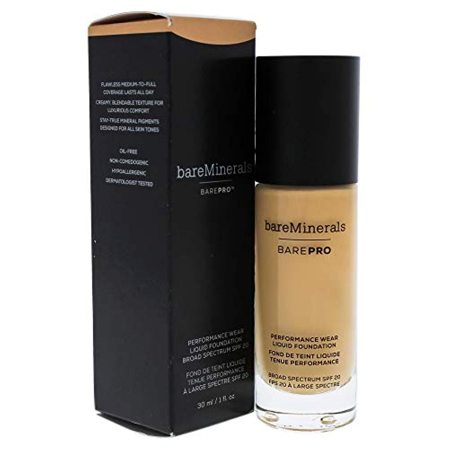 熟読簡単な気楽なベアミネラル BarePro Performance Wear Liquid Foundation SPF20 - # 16 Sandstone 30ml/1oz並行輸入品