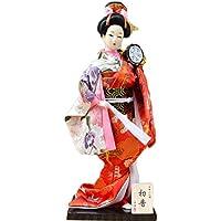 和風の美しい着物芸者/舞妓人形/ギフト/ジュエリー-A26
