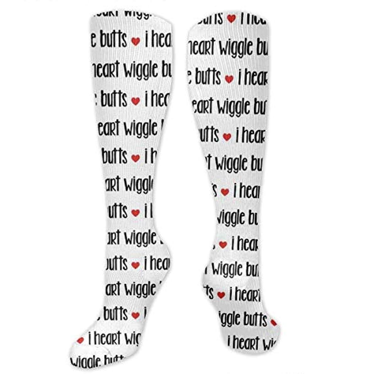 ヒロイック遮る彼女靴下,ストッキング,野生のジョーカー,実際,秋の本質,冬必須,サマーウェア&RBXAA I Love Dogs Socks Women's Winter Cotton Long Tube Socks Cotton Solid...
