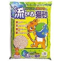 ヒノキ ひのきとおからの流せる猫砂 8L