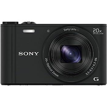 ソニー SONY  デジタルカメラ Cyber-shot WX350 光学20倍 ブラック DSC-WX350-B