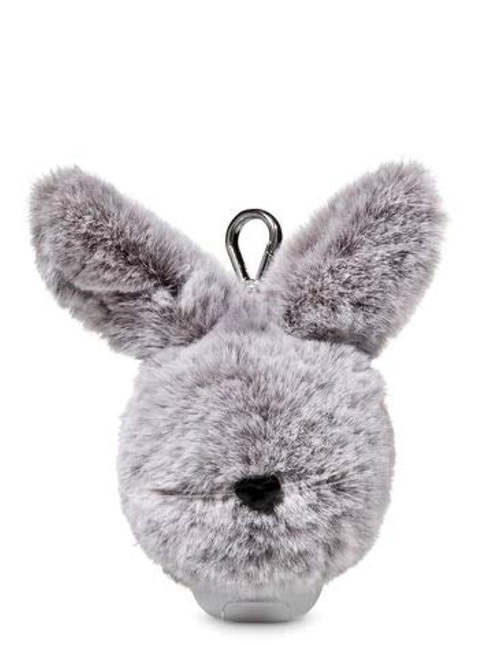 ハーネス地獄過半数【Bath&Body Works/バス&ボディワークス】 抗菌ハンドジェルホルダー イースターバニーポム Pocketbac Holder Easter Bunny Pom [並行輸入品]