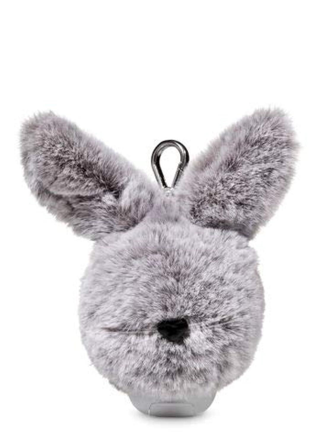うがい薬運営迫害する【Bath&Body Works/バス&ボディワークス】 抗菌ハンドジェルホルダー イースターバニーポム Pocketbac Holder Easter Bunny Pom [並行輸入品]