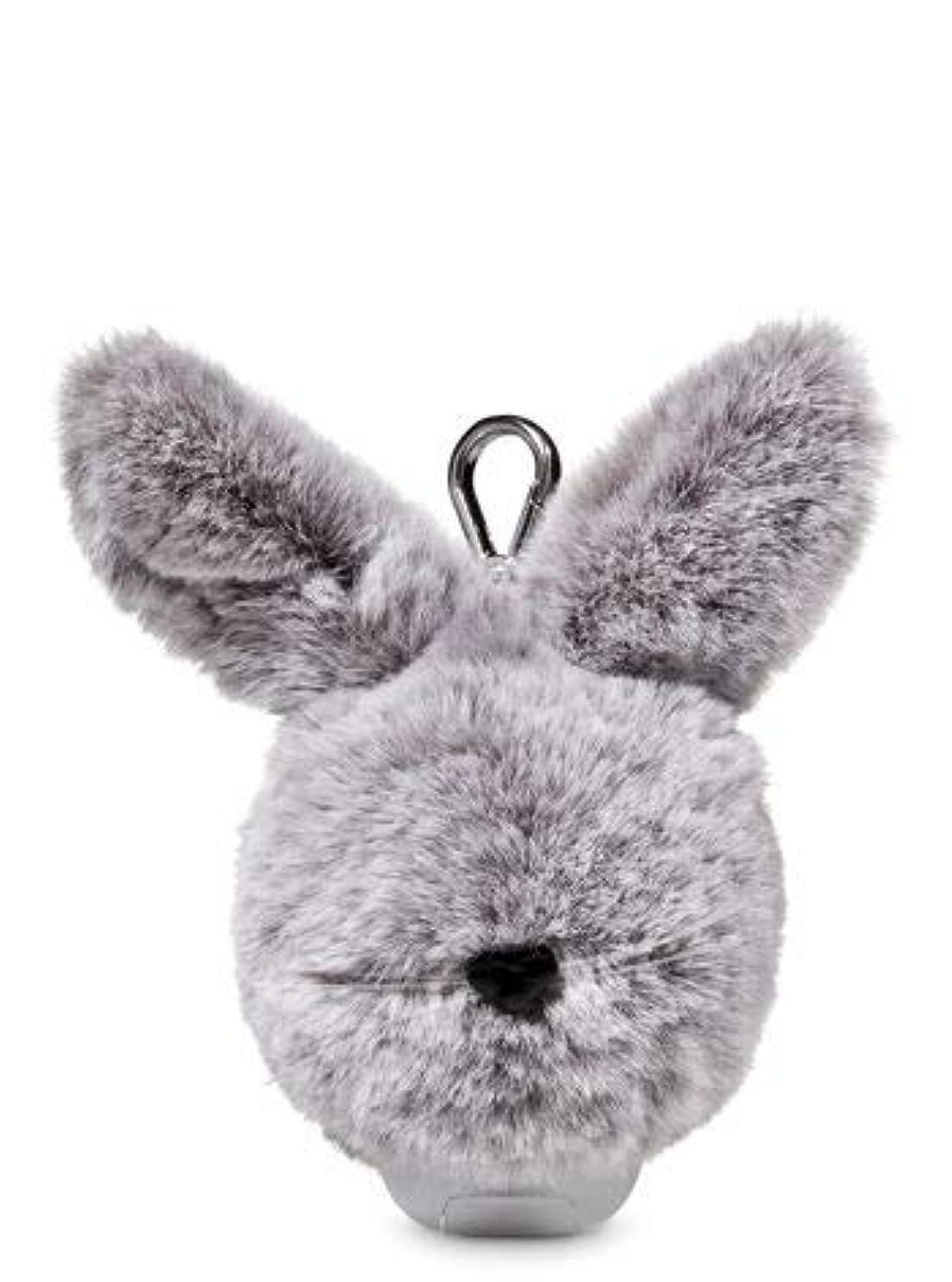 尾降雨ポーター【Bath&Body Works/バス&ボディワークス】 抗菌ハンドジェルホルダー イースターバニーポム Pocketbac Holder Easter Bunny Pom [並行輸入品]