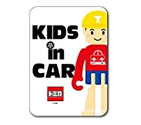 LCS-648 KIDS IN CAR Tくん トミカロゴステッカー キッズインカー 車用ステッカー TOMY TOMICA トミカ タカラトミー 子供 車 安全