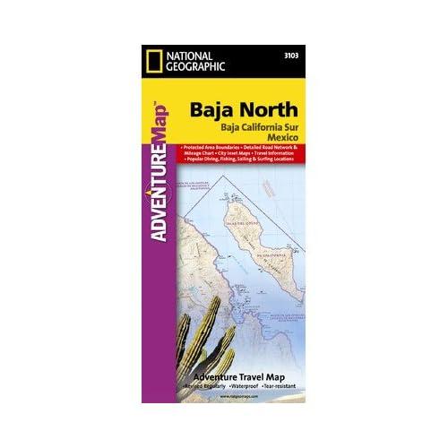 バハ北のナショナルジオグラフィックAD00003103地図