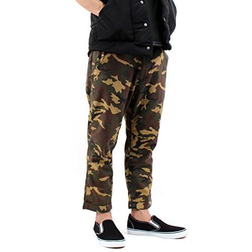 (ラフタス)Rafftas 総柄 クロップドパンツ L サイズ カモ2 迷彩 春 夏 パンツ メンズ men's