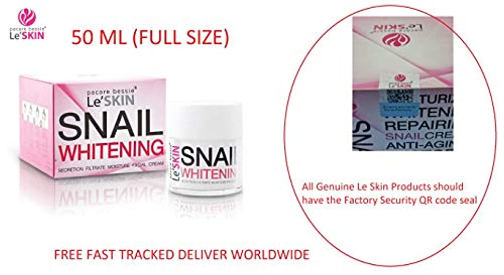 Le'SKIN Snail Whitening Secretion Filtrate Moisture Facial Cream 50 ml