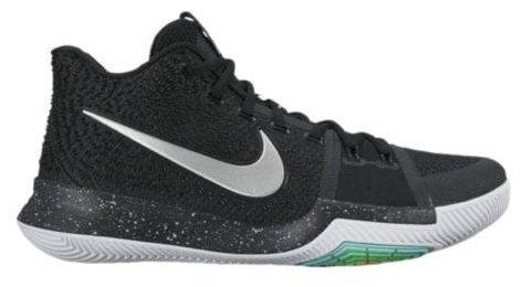 "Nike Kyrie 3 ""Black Ice"" メンズ Black/Total Crimson/Dark Grey/White ナイキ カイリー3 Kyrie Irving カイリー・アービング バッシュ (26.5) [並行輸入品]"