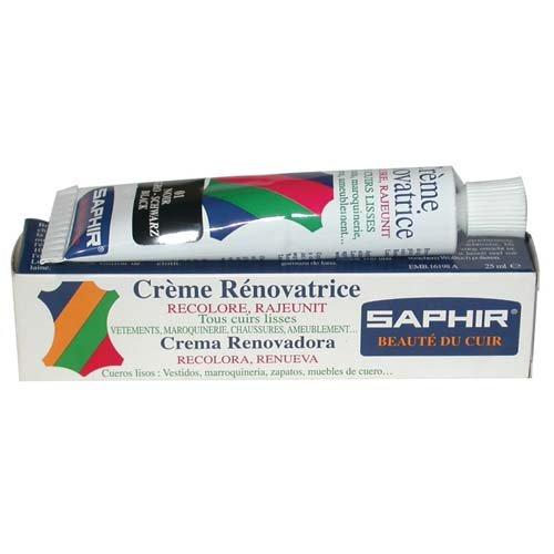 [サフィール] SAPHIR レノベイティングカラー補修クリーム 25ml 9550851 (ブラック)