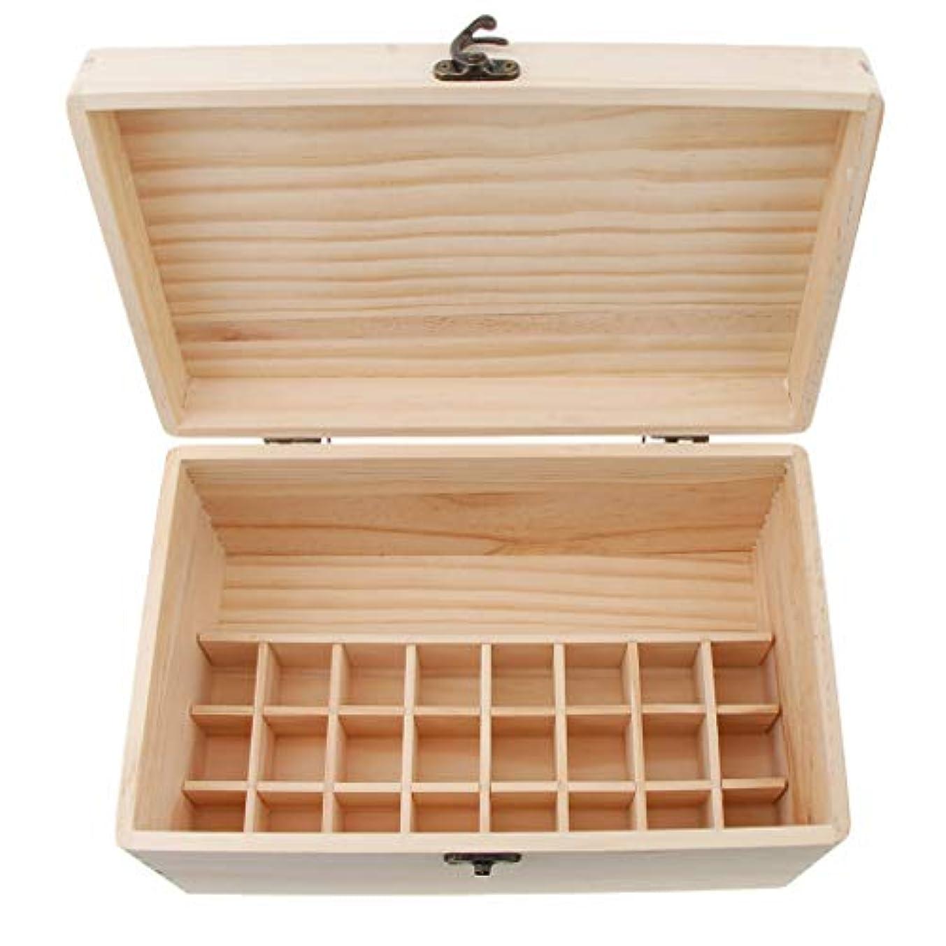 隣接する恥手のひらsharprepublic エッセンシャルオイル 木製収納ボックス ディスプレイ キャリーケース オーガナイザーホールド 32本