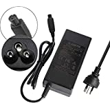 Electric Scooter Battery Charger for Two Wheels Hoverboard,Universal Charger 42V 2A 3-Prong Power Supply Adapter