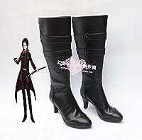 COSPATIO 502 刀剣乱舞-ONLINE- かしゅう きよみつ コスプレ靴 cosplay コス 靴 ブーツ 下駄 ハイヒール シューズ (24.5cm)