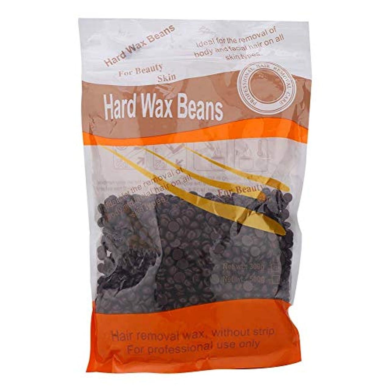 毎週灰望遠鏡ワックスビーン、300gペーパーフリーのソリッドワックスビーンズビーズ素早い毛髪除去効果のある天然成分と穏やかな成分を採用アームボディビキニヘア脱毛ワックス(1#)