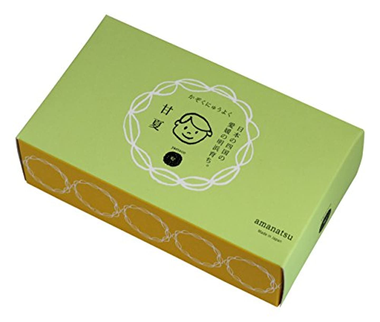 透明に素晴らしい流yaetoco バスソルト 甘夏の香り(箱売り)50g×5P