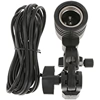 Flameer DSLR カメラ対応 撮影 フラッシュ スタジオ 傘 反射板 ランプヘッド 角度調整可能 ACソケット  アクセサリー