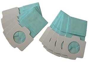 makita 充電式クリーナー(4072、4073、4076DW、4093)用 紙パック 抗菌仕様 10枚入 A-48511