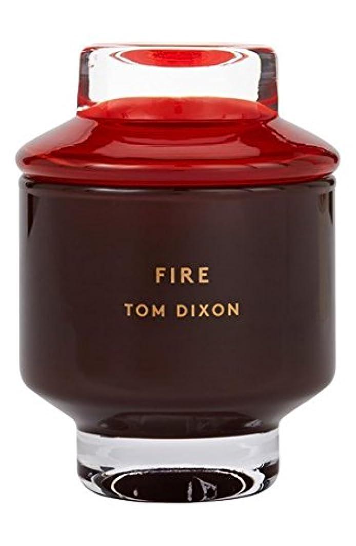 家禽見込み帰るTom Dixon 'Fire' Candle (トム ディクソン 'ファイヤー' キャンドル小) Small