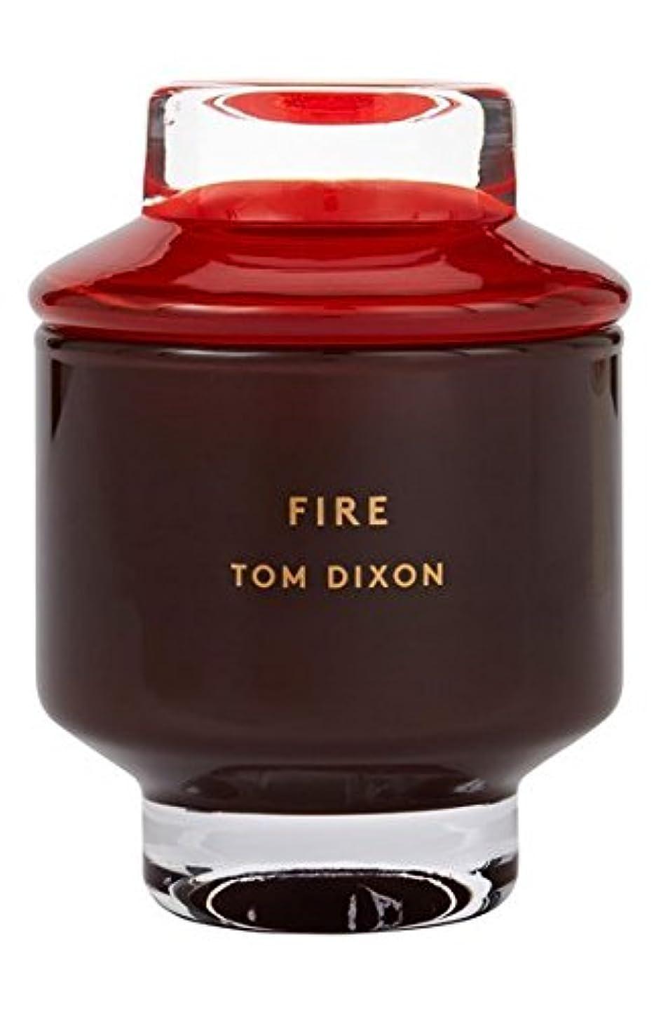 バーマド評価する論争の的Tom Dixon 'Fire' Candle (トム ディクソン 'ファイヤー' キャンドル大) Large