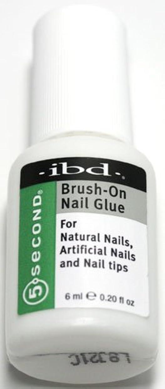 囲む最初にとにかくibd ブラッシュオンネイルグルー[5SECOND Brush-On Nail Glue] ◆