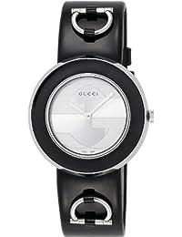 [グッチ]GUCCI 腕時計 Uプレイ シルバー文字盤 エナメル革ベルト YA129417 レディース 【並行輸入品】