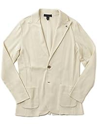 LARDINI ラルディーニ ニットジャケット コットン ピークドラペル JMLJM20 EE50010
