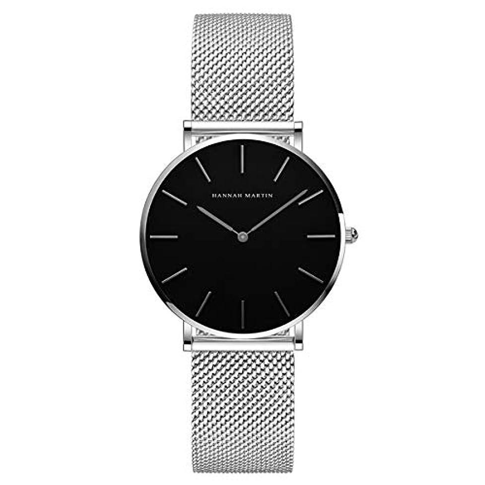 LECKYレディース 腕時計 Hannah Martin おしゃれ クラシック シンプル 女性 時計 ビジネス 日本製クォーツ watch for women