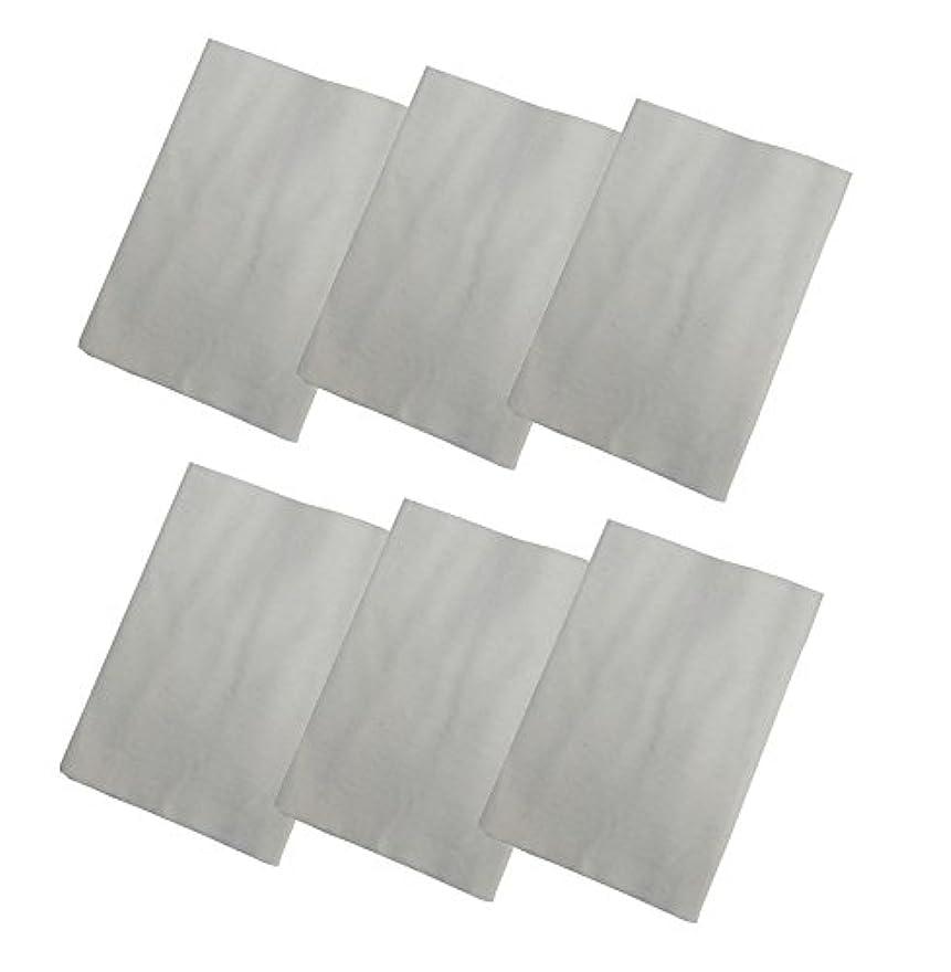 モンスター信頼性のある委任コットンフランネル6枚組(ヒマシ油用) 無添加 無漂白 平織 両面起毛フランネル生成
