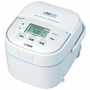 タイガー マイコン炊飯器 「炊きたて」 tacook 3合 ホワイト JBU-A550-W