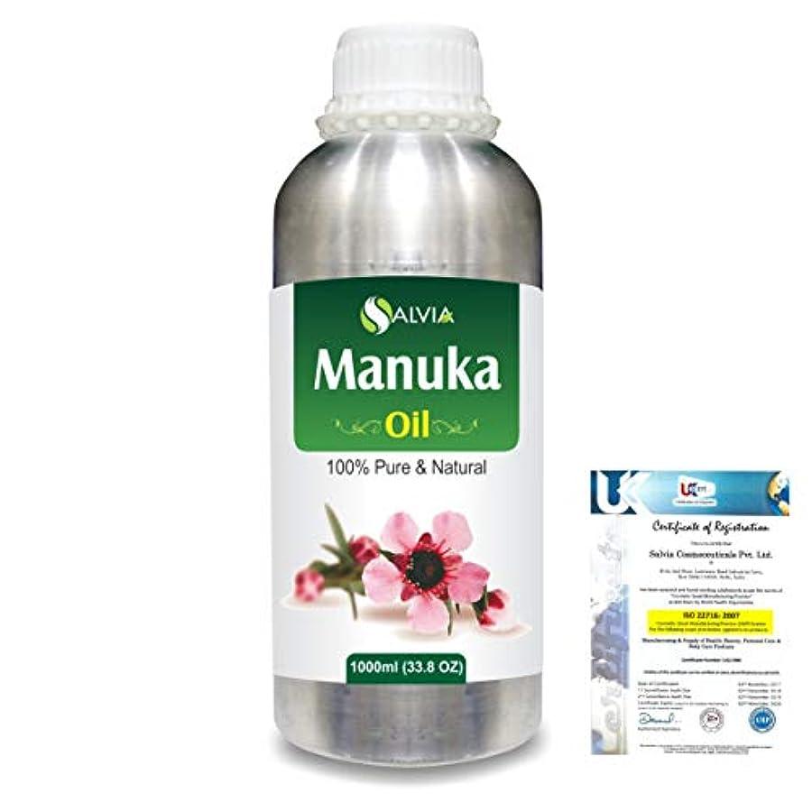 Manuka (Leptospermum scoparium) 100% Natural Pure Essential Oil 1000ml/33.8fl.oz.