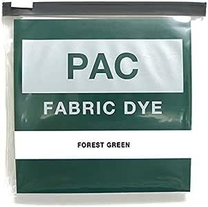 PAC FABRIC DYE 繊維用染料 col.04 フォレストグリーン