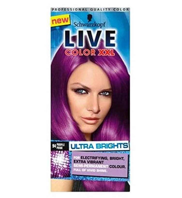義務づけるテセウスクラブSchwarzkopf LIVE Color XXL Ultra Brights 94 Purple Punk Semi-Permanent Purple Hair Dye - シュワルツコフライブカラーXxl超輝94紫...