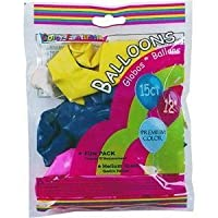 PROMOTIONS UNLIMITED151316Balloon - Smart Savers-15CT PARTY BALLOONS (並行輸入品)