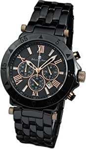 [サルバトーレマーラ]セラミック腕時計 ブラックアウト 10周年記念プレミアム限定品 クロノグラフ メンズ/男性用 SM12108