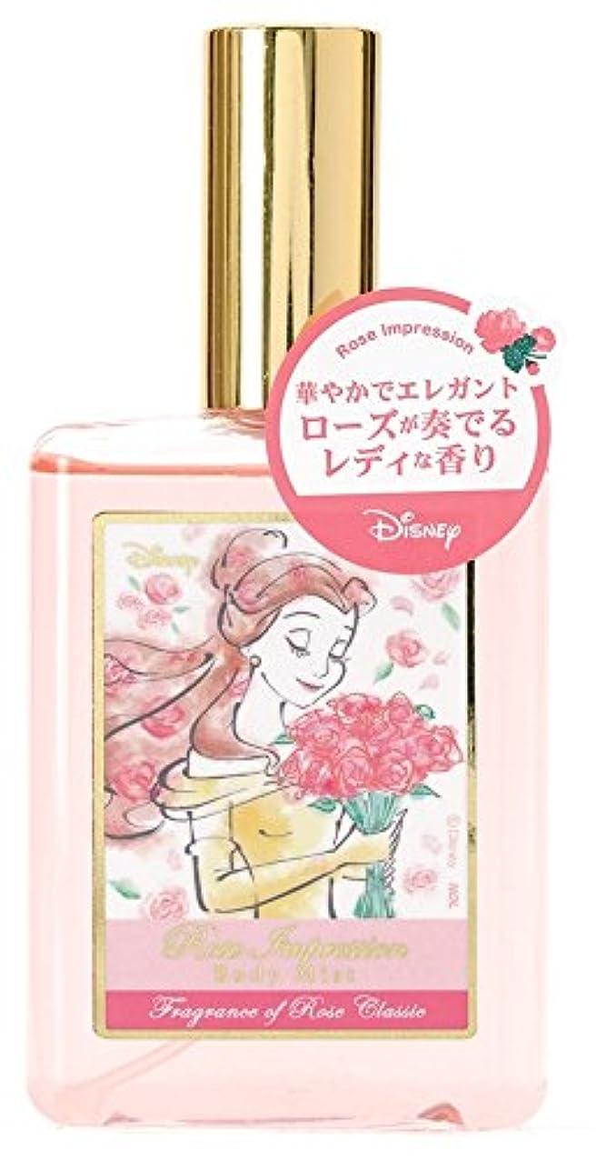 洗剤区画調子ディズニー ボディミスト ベル ローズインプレッション ローズクラシックの香り 75ml DIT-11-01