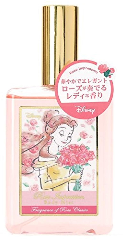 夢田舎者アトムディズニー ボディミスト ベル ローズインプレッション ローズクラシックの香り 75ml DIT-11-01